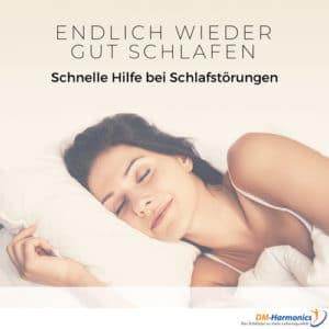 gut schlafen mit der DMH-Methode