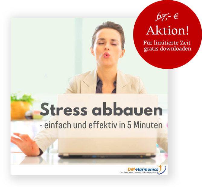 stress abbauen werbung