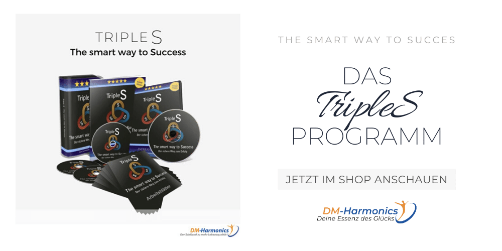 TripleS Programm - der smarte Weg für mehr Erfolg und Zufriedenheit im Leben - mit Binauralen Beats und der DMH Methode