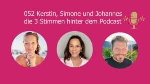 DMH - Kerstin, Simone und Johannes, die 3 Stimmen hinter dem Podcast