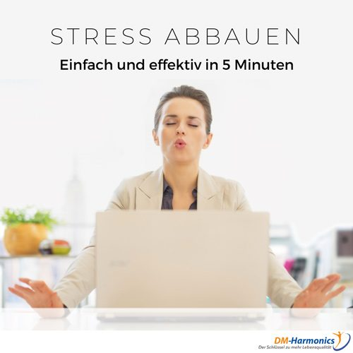 Stress abbauen in 5 Minuten mit Binauralen Beats